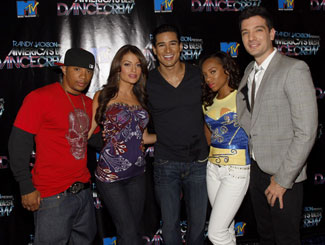 Pictured with Mario Lopez